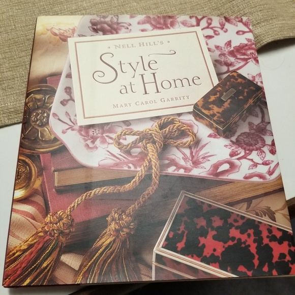 Other - 2/$20 Nell Hill's Style at Home Coffee Table Book